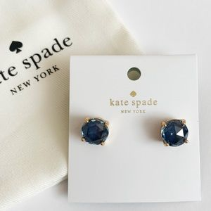 💫New💫KATE SPADE New York Blue Gumdrop Earrings